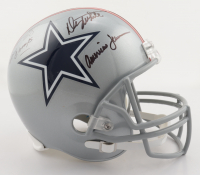 """Drew Pearson & Danny White Signed Cowboys Full-Size Helmet Inscribed """"SB XII Champs"""" & """"Americas Team"""" (Beckett Hologram) at PristineAuction.com"""