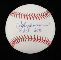 "Andre Dawson Signed OML Baseball Inscribed ""HOF 2010"" (JSA COA) at PristineAuction.com"