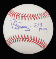"Darryl Strawberry Signed OML Baseball Inscribed ""83 ROY"" (JSA COA) at PristineAuction.com"