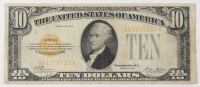 1928 $10 Ten-Dollars U.S. Gold Certificate Bank Note (AA Block) at PristineAuction.com