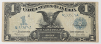 """1899 $1 One-Dollar """"Black Eagle"""" U.S. Silver Certificate Large-Size Bank Note at PristineAuction.com"""
