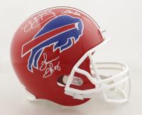 Jim Kelly, Thurman Thomas & Andre Reed Signed Bills Full-Size Helmet (JSA COA) at PristineAuction.com