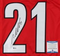 Nino Niederreiter Signed Jersey (Beckett COA) at PristineAuction.com