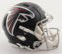 Julio Jones Signed Falcons Full-Size Authentic On-Field Speed Helmet (Beckett COA) (See Description) at PristineAuction.com