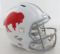 Bruce Smith Signed Bills Full-Size Speed Helmet (Beckett COA) at PristineAuction.com