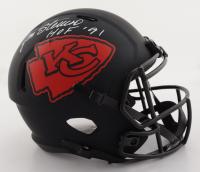"Jan Stenerud Signed Chiefs Full-Size Eclipse Alternate Speed Helmet Inscribed ""HOF '91""(Schwartz COA) (See Description) at PristineAuction.com"