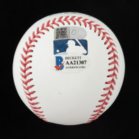 "Nolan Ryan Signed OML Baseball Inscribed ""H.O.F. '99"" (Beckett COA, Ryan Hologram & AIV Hologram) at PristineAuction.com"