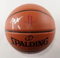 John Wall Signed Rockets Logo NBA Game Ball Series Basketball (Beckett COA) at PristineAuction.com