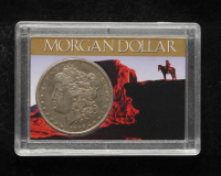 1886-O Morgan Silver Dollar With Display Case at PristineAuction.com