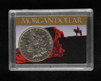1894-O Morgan Silver Dollar With Display Case at PristineAuction.com