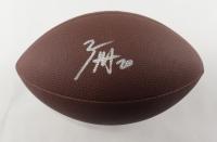 Zack Moss Signed NFL Football (Beckett COA) at PristineAuction.com