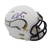 Dalvin Cook Signed Vikings Matte White Speed Mini Helmet (JSA COA) at PristineAuction.com