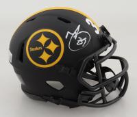 Minkah Fitzpatrick Signed Steelers Eclipse Alternate Speed Mini-Helmet (Beckett Hologram) at PristineAuction.com