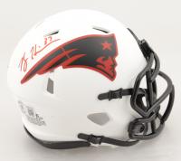 Rodney Harrison Signed Patriots Lunar Eclipse Alternate Speed Mini Helmet (Beckett Hologram) (See Description) at PristineAuction.com