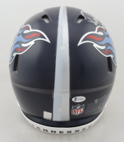 Ryan Tannehill & Derrick Henry Signed Titans Full-Size Authentic On-Field Speed Helmet (Beckett COA) (See Description) at PristineAuction.com