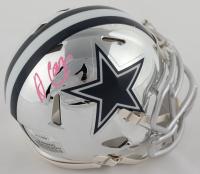 Amari Cooper Signed Cowboys Chrome Speed Mini Helmet (JSA COA) at PristineAuction.com