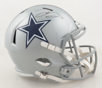 Trevon Diggs Signed Cowboys Full-Size Speed Helmet (JSA COA) at PristineAuction.com