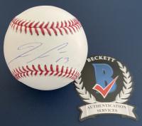 Ronald Acuna Jr. Signed OML Baseball (Beckett Hologram) at PristineAuction.com