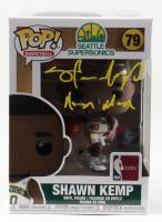 "Shawn Kemp Signed SuperSonics #79 Funko Pop! Vinyl Figure Inscribed ""Reign Man"" (JSA COA) at PristineAuction.com"