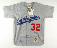 Sandy Koufax Signed Dodgers Jersey (Online Authentics COA) at PristineAuction.com