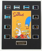 """""""The Simpsons"""" LE 8x10 Custom Matted Original Film / Movie Cell Display at PristineAuction.com"""