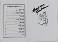 Barbara Nicklaus Signed Augusta National Scorecard (JSA COA) at PristineAuction.com