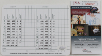 Fred Couples Signed Augusta National Golf Club Score Card (JSA COA) at PristineAuction.com