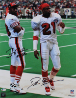 Jerry Rice & Deion Sanders Signed 16x20 Photo (Beckett COA) at PristineAuction.com
