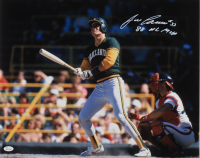 """Jose Canseco Signed Athletics 16x20 Photo Inscribed """"88 NL MVP"""" (JSA COA) at PristineAuction.com"""