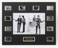 The Beatles LE 8x10 Custom Matted Original Film / Movie Cell Display at PristineAuction.com