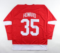 Jimmy Howard Sigend Jersey (Beckett COA) at PristineAuction.com