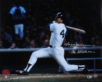 """Reggie Jackson Signed Yankees 16x20 Photo Inscribed """"Mr. October"""" (Beckett COA) at PristineAuction.com"""