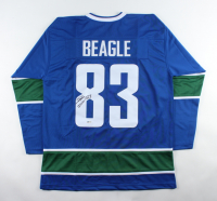Jay Beagle Sigend Jersey (Beckett COA) at PristineAuction.com