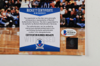 Steve Francis Signed Rockets 16x20 Photo (Beckett COA) at PristineAuction.com