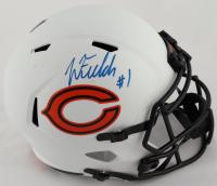 Justin Fields Signed Bears Full-Size Lunar Eclipse Alternate Speed Helmet (Beckett Hologram) (See Description) at PristineAuction.com