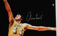 Jerry West Signed Lakers 16x20 Photo (PSA COA) at PristineAuction.com