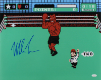 """Mike Tyson Signed """"Punch Out"""" 16x20 Photo (JSA COA) at PristineAuction.com"""