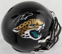 Travis Etienne Signed Jaguars Full-Size Speed Helmet (Beckett Hologram) at PristineAuction.com