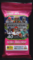 2020 NFL Panini Rookies & Stars Cello Jumbo Fat Pack with (40) Cards at PristineAuction.com