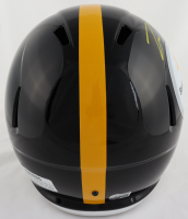 Pat Freiermuth Signed Steelers Full-Size Speed Helmet (Beckett Hologram) at PristineAuction.com