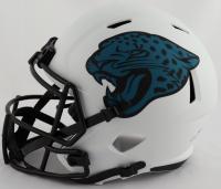 Travis Etienne Signed Jaguars Full-Size Lunar Eclipse Alternate Speed Helmet (Beckett Hologram) at PristineAuction.com
