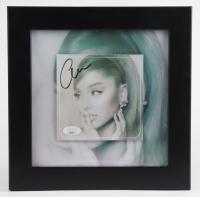 "Ariana Grande Signed 10x10 Custom Framed ""Positions"" Album Photo Display (JSA COA) at PristineAuction.com"