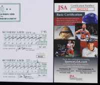 Jack Nicklaus Signed 7x9 1986 Masters Tournament Scorecard Reprint (JSA COA) at PristineAuction.com