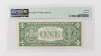 1957-B $1 Blue Seal Silver Certificate Bank Note (PMG 66 Gem Uncirculated EPQ) at PristineAuction.com