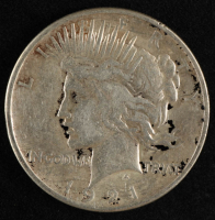 1921 $1 Peace Silver Dollar at PristineAuction.com