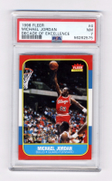 Michael Jordan 1996-97 Fleer Decade of Excellence #4 (PSA 7) at PristineAuction.com
