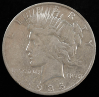 1935 $1 Peace Silver Dollar at PristineAuction.com