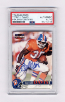 Terrell Davis Signed 1996 Pro Line Intense #20 (PSA Encapsulated) at PristineAuction.com