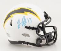 Keenan Allen Signed Chargers Lunar Eclipse Alternate Speed Mini Helmet (Beckett Hologram) at PristineAuction.com