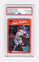 Robin Ventura Signed 1990 Donruss #28 (PSA Encapsulated) at PristineAuction.com